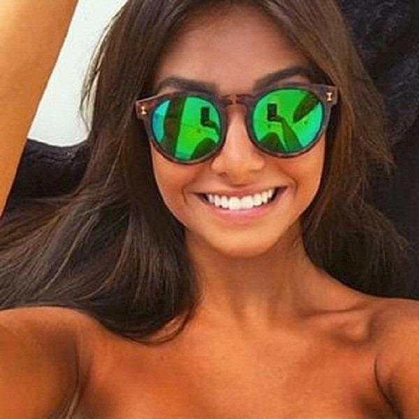 c9e1bece84179 Óculos De Sol Feminino Illesteva Espelhado Thassia Naves - R  85,90 ...