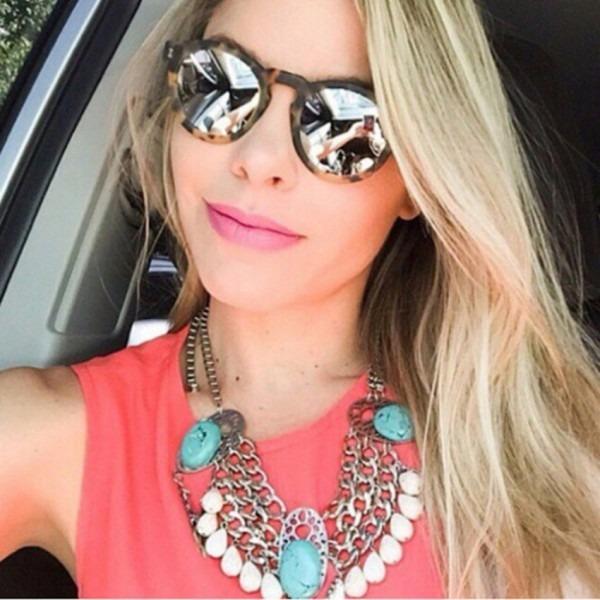 Óculos De Sol Feminino Illesteva Espelhado - Várias Cores - R  85,90 ... 879fbe4466