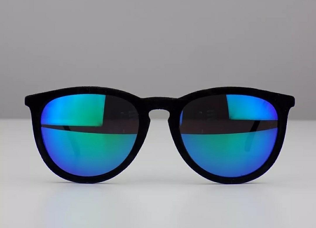 7e377f92bb6c0 óculos de sol feminino importado escuro lente azul espelhado. Carregando  zoom.