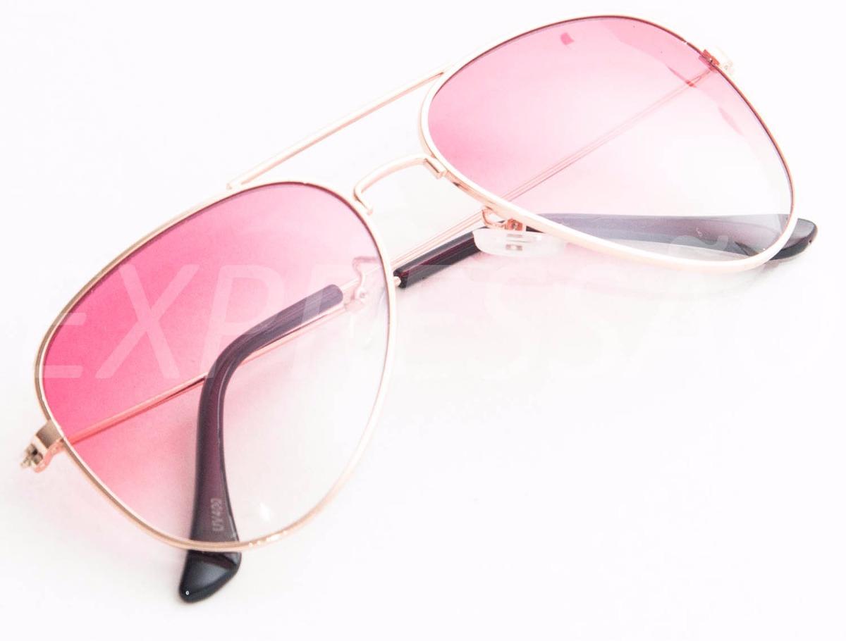 7617df809 Óculos De Sol Feminino Infantil Lente Rosa - R$ 45,90 em Mercado Livre