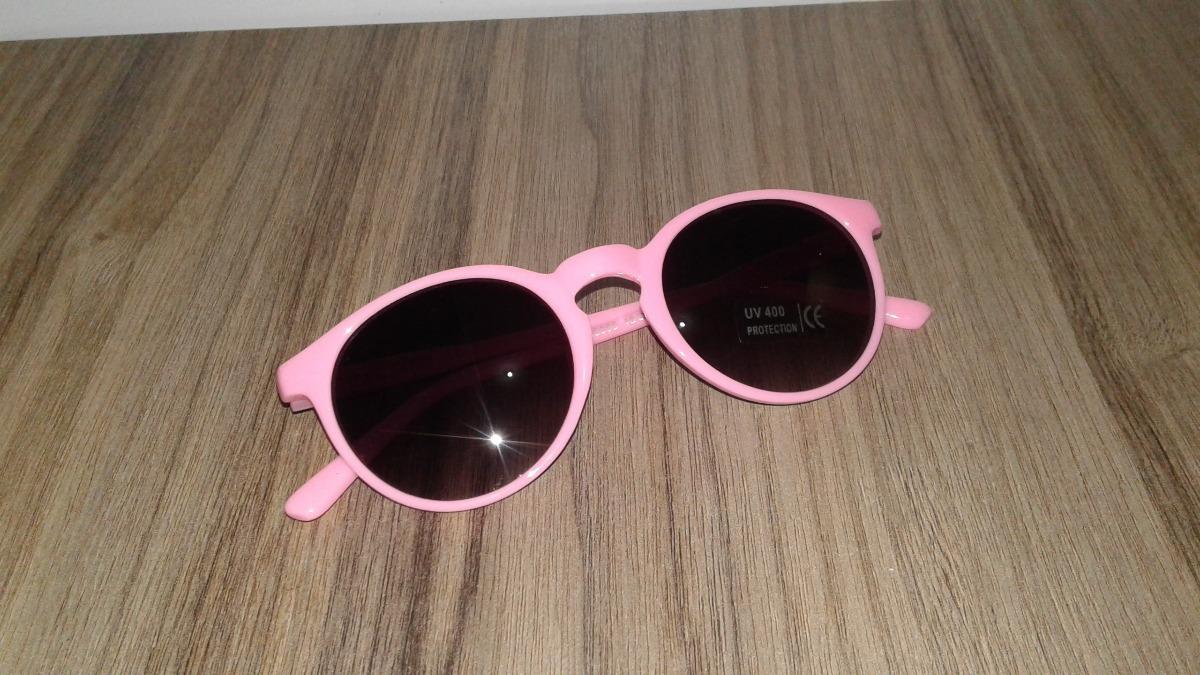 eeabf9316 óculos de sol feminino infantil redondo rosa retrô. Carregando zoom.