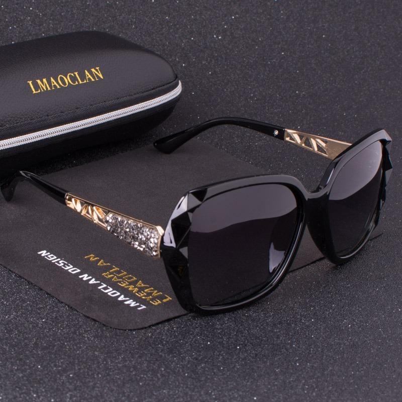 3dc5697db736e óculos de sol feminino lente polarizada uv 400. Carregando zoom.