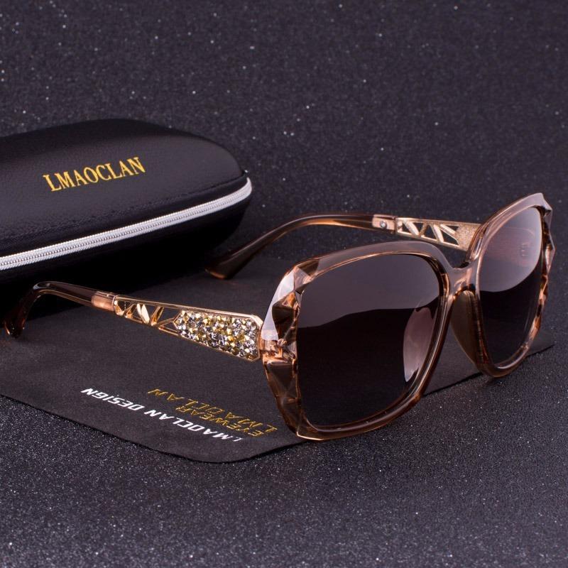 54e9b915bc372 Óculos De Sol Feminino Lente Polarizada Uv400 - R  90,00 em Mercado ...