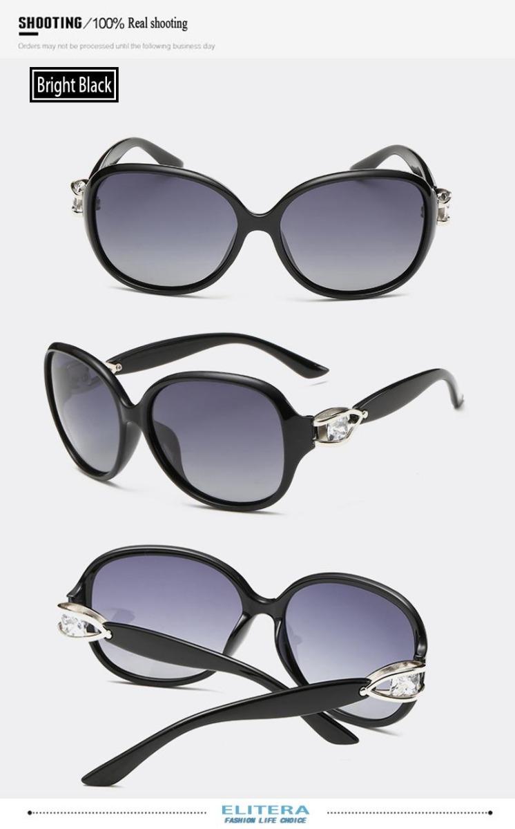be8c14f31f0f5 óculos de sol feminino lente polarizada uv400 elitera luxo. Carregando zoom.