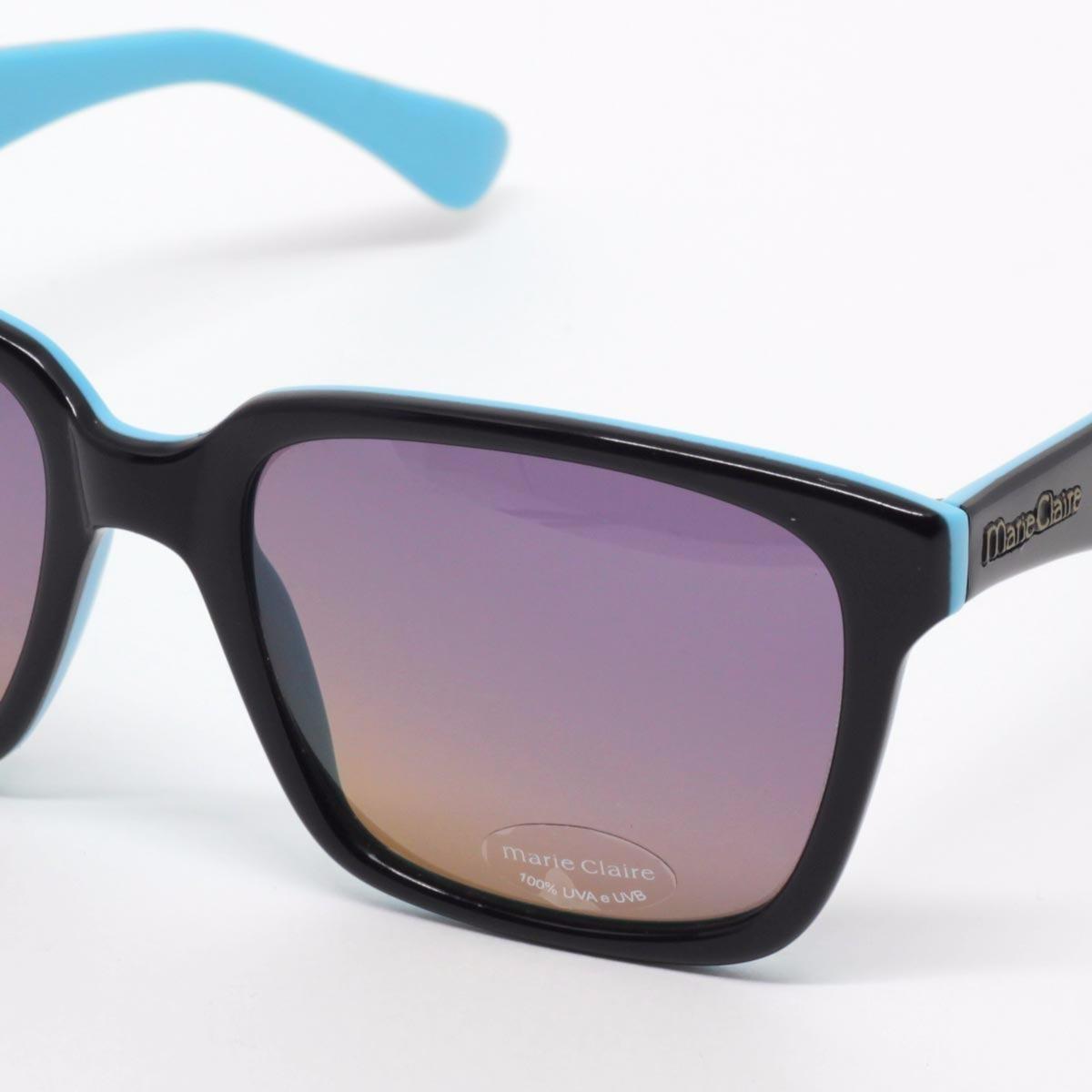 ae5f81d3144ca óculos de sol feminino - marie claire - azul. Carregando zoom.
