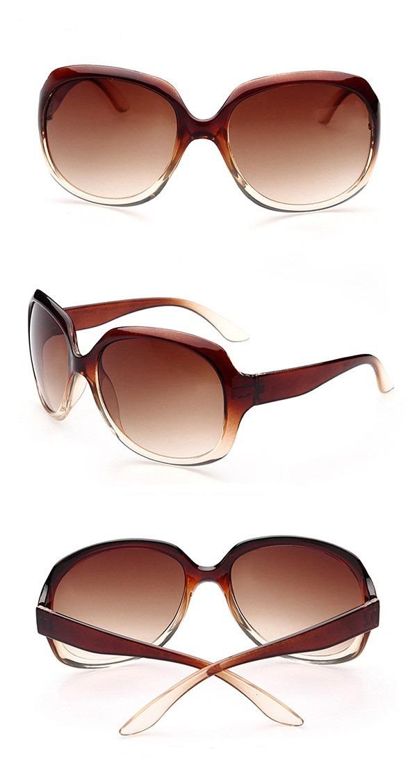 b45dec5091beb óculos de sol feminino marrom borboleta polarizado uv400. Carregando zoom.
