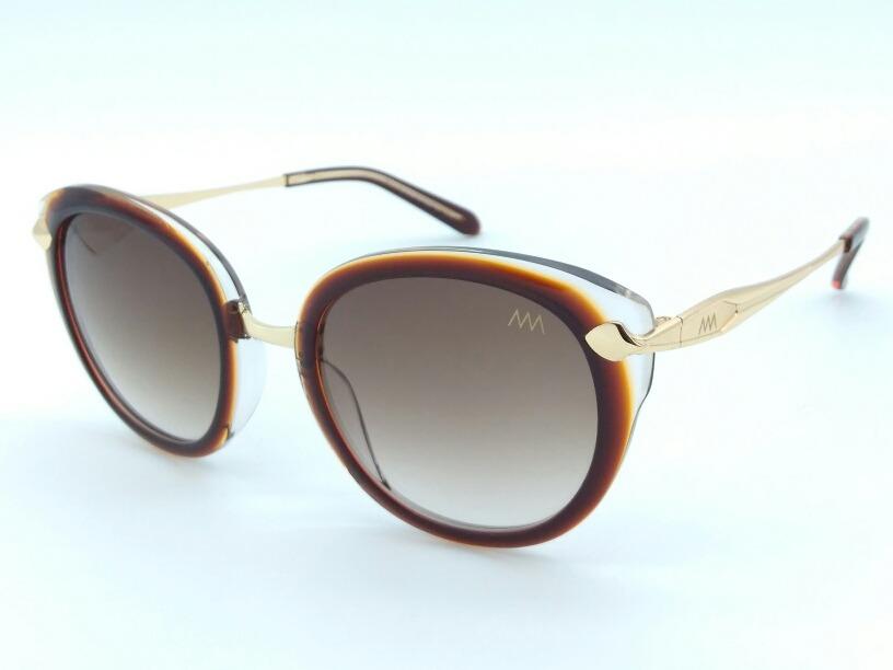 d273a35a603f2 óculos de sol feminino marrom degradê redondo 27506 c4. Carregando zoom.