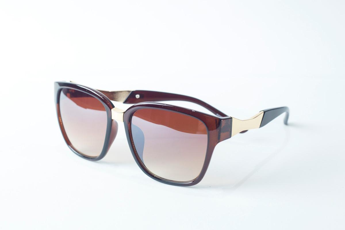 0d9d3cc164835 Oculos De Sol Feminino Marrom Original 400 Uv Barato - R  89