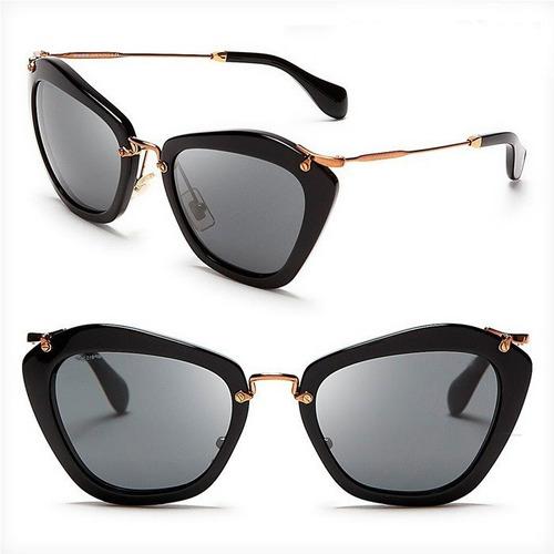 oculos de sol feminino máscara quadrado top preto marrom