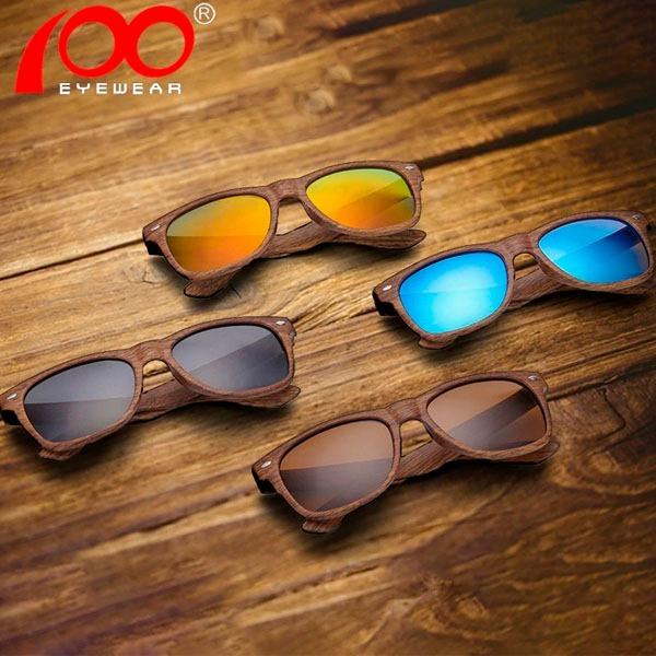 a3d6a3d99 Oculos De Sol Feminino Masculino Madeira Unissex Luxo - R$ 34,90 em ...