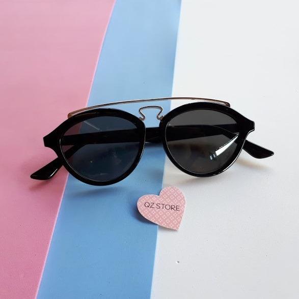 f0f237b0208 Óculos De Sol Feminino Masculino Redondo Redondinho Vintage - R  60 ...