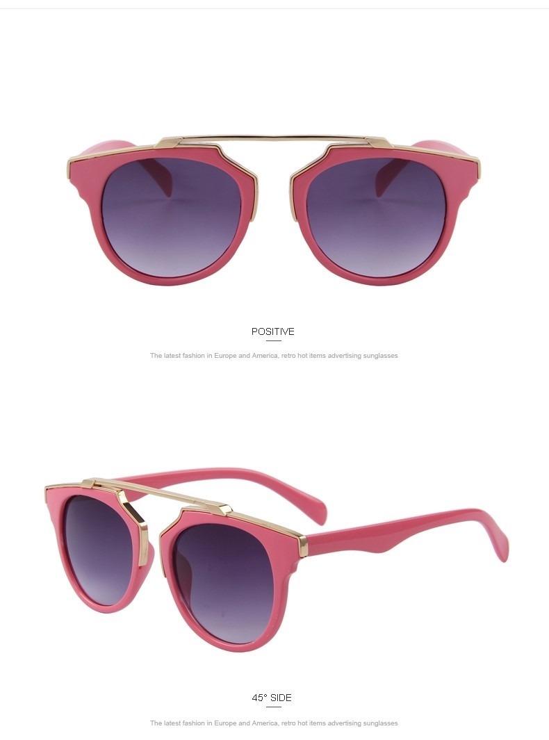 94e5a87cc0019 Óculos De Sol Feminino Merry s Moda Olho De Gato Cat Eye - R  55,90 ...