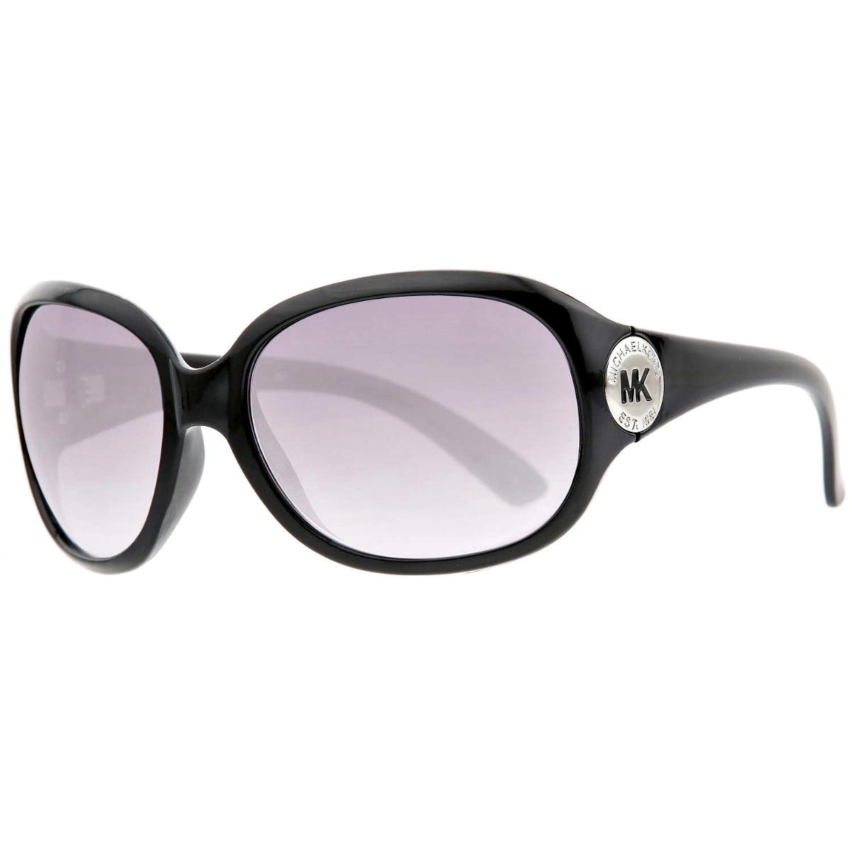 d0ad70b09 óculos de sol feminino michael kors original preto prata. Carregando zoom.