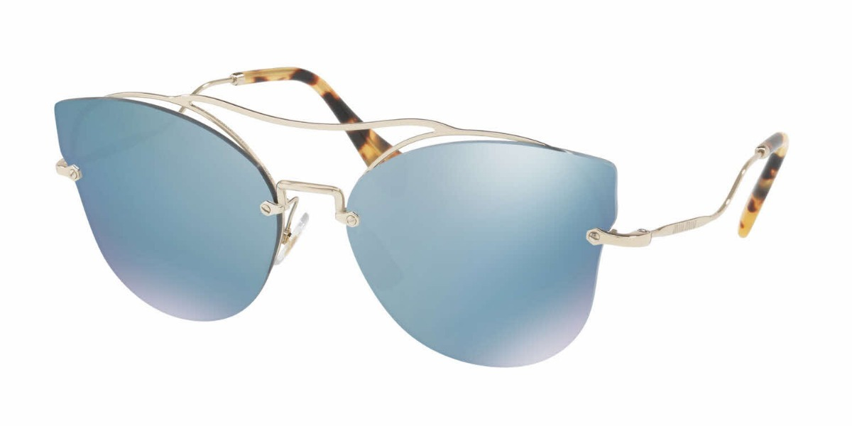 2df439256f181 óculos de sol feminino miu miu original - mu52s. Carregando zoom.