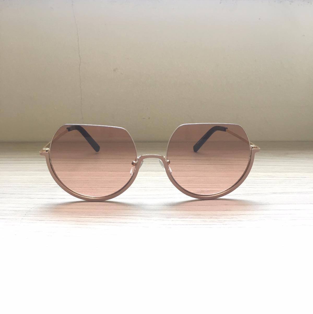 óculos de sol feminino miu miu rosa marrom proteção uv400. Carregando zoom. 07467faf0d