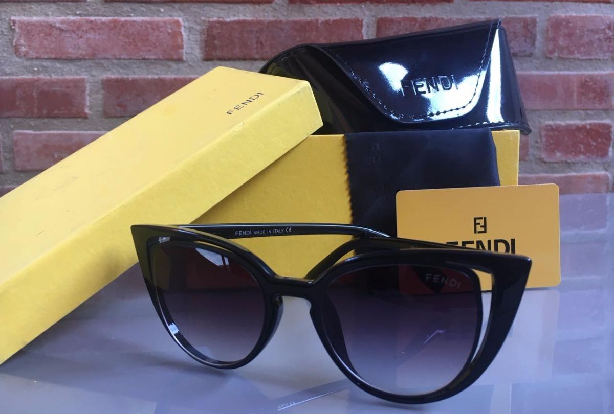 5035510d3 Oculos De Sol Feminino Modelo Gatinho Preto Frete Gratis - R$ 350,00 ...