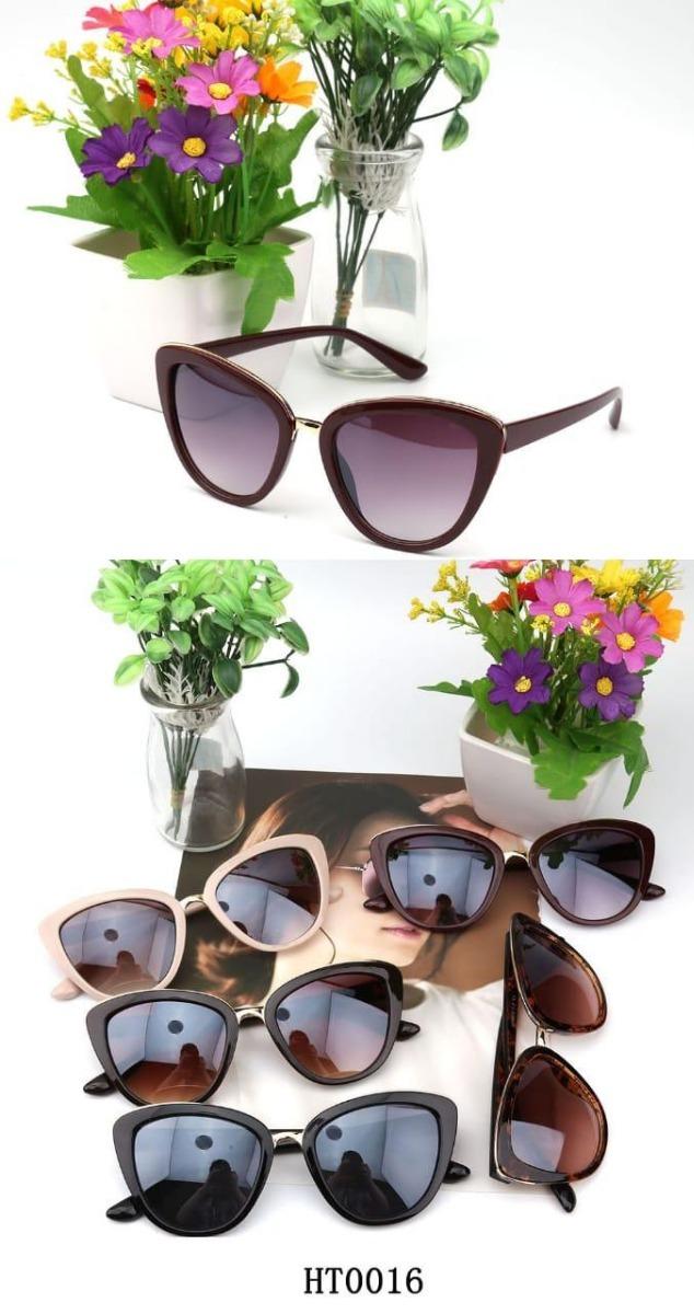 óculos de sol feminino modelo gatinho vip luxo mod. 0016. Carregando zoom. b7d7a6eddd