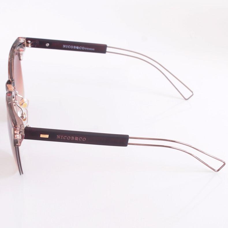 3a062edeee56e Óculos De Sol Feminino Nicoboco 7067 Original - R  120