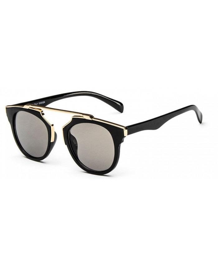 aa903e8ae5cbf óculos de sol feminino olho de gato espelhado proteção uv400. Carregando  zoom.