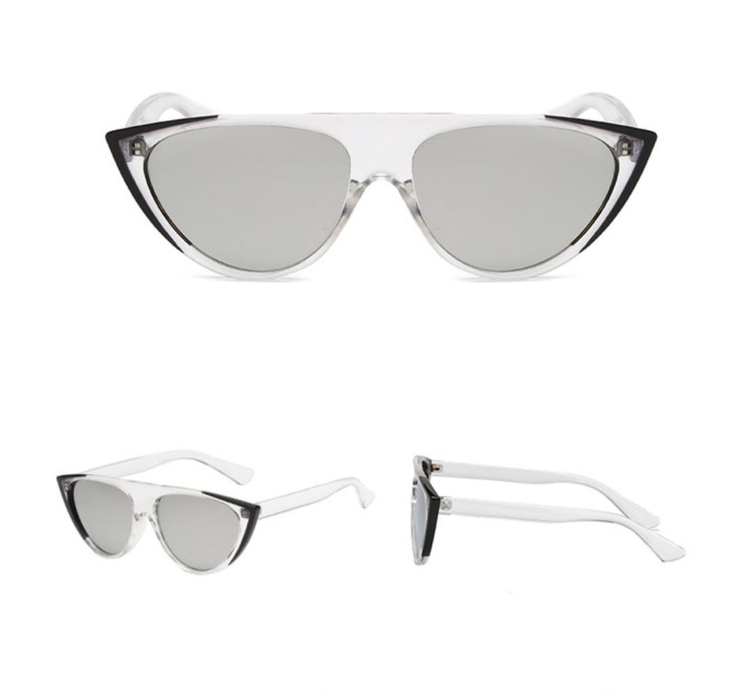 a6017befd óculos de sol feminino olho de gato uv 400 (limpa estoque). Carregando zoom.