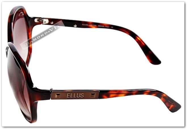 b6ad29888 Oculos De Sol Feminino Original Ellus Vintage Retro Marrom - R$ 265 ...