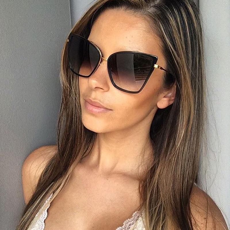 óculos de sol feminino original tendencia gatinho moderno. Carregando zoom. 1a87500202