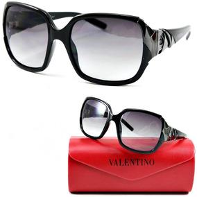 f68acce87 Oculos De Sol Feminino Original Valentino Vintage Retro Pret