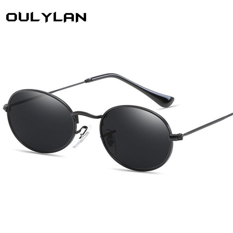 cdf4b1776b958 óculos de sol feminino oulylan retro metal moda fashion. Carregando zoom.