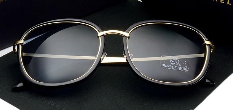 7be7ffbde492e Oculos De Sol Feminino Polarizado Redondo - R  130,00 em Mercado Livre