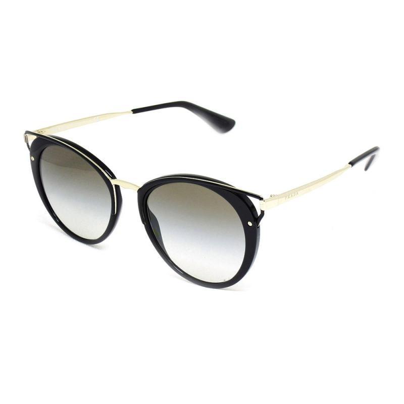 óculos de sol feminino prada 66t t 54 c preto e dourado. Carregando zoom. 6ab0a18dd2