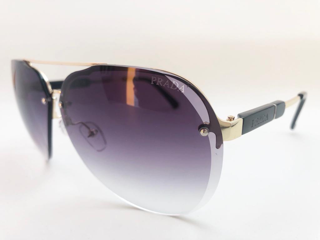 fc857a144 Oculos De Sol Feminino Prada Original Grande Frete Gratis - R$ 379 ...