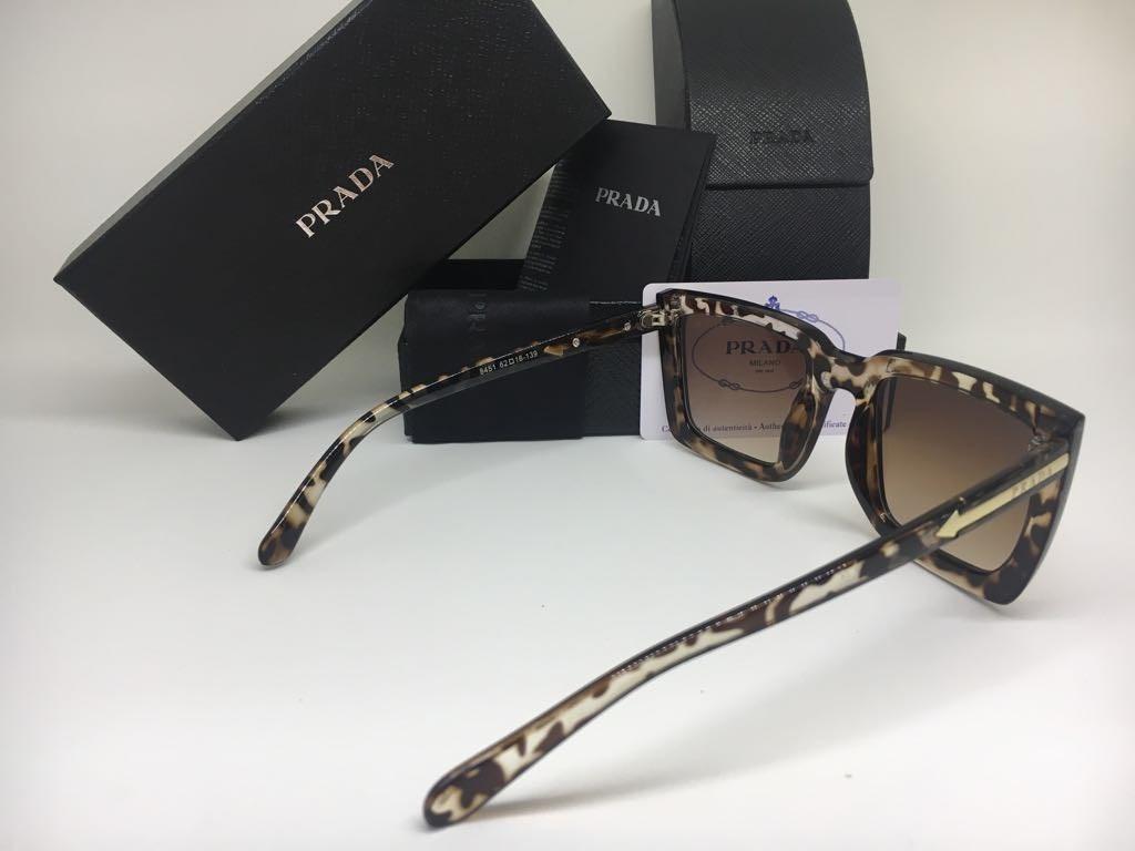 oculos de sol feminino prada original preto frete gratis. Carregando zoom. 0141e833be
