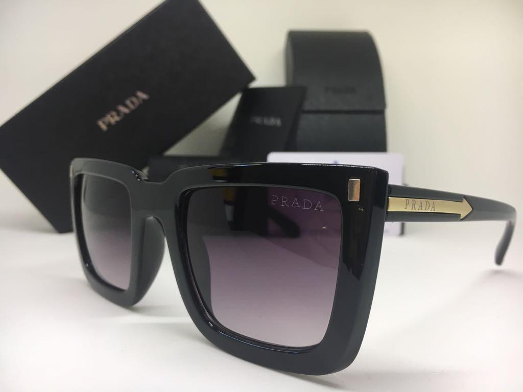 17c1978132834 oculos de sol feminino prada original preto frete gratis. Carregando zoom.