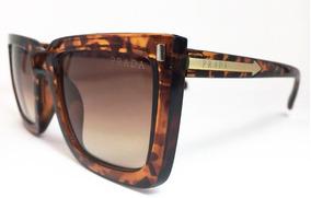 ca61e5813 Oculos Prada Baroque Quadrado Preto - Óculos no Mercado Livre Brasil