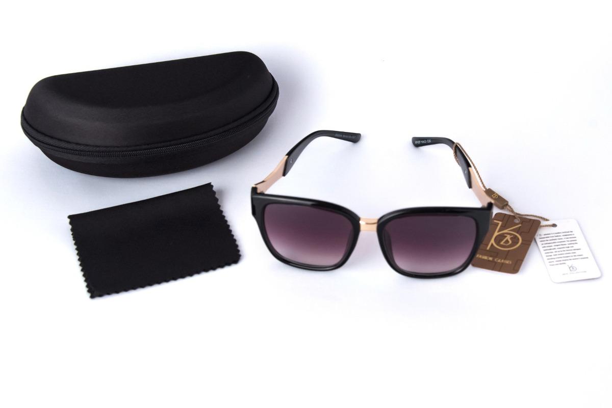 óculos de sol feminino preto degradê original frete grátis. Carregando zoom. a4d361e653