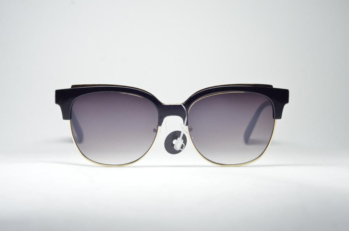 fd4e7bdfa óculos de sol feminino preto redondo lente espelhada uv400. Carregando zoom.