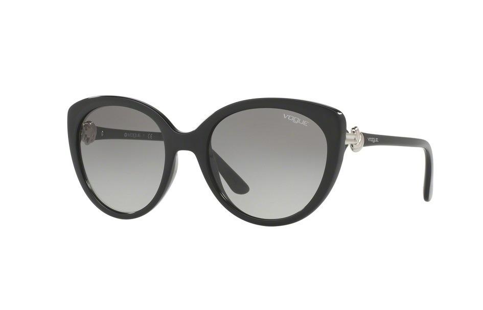 d73af516fced5 óculos de sol feminino preto - vogue vo 5060s - original. Carregando zoom.