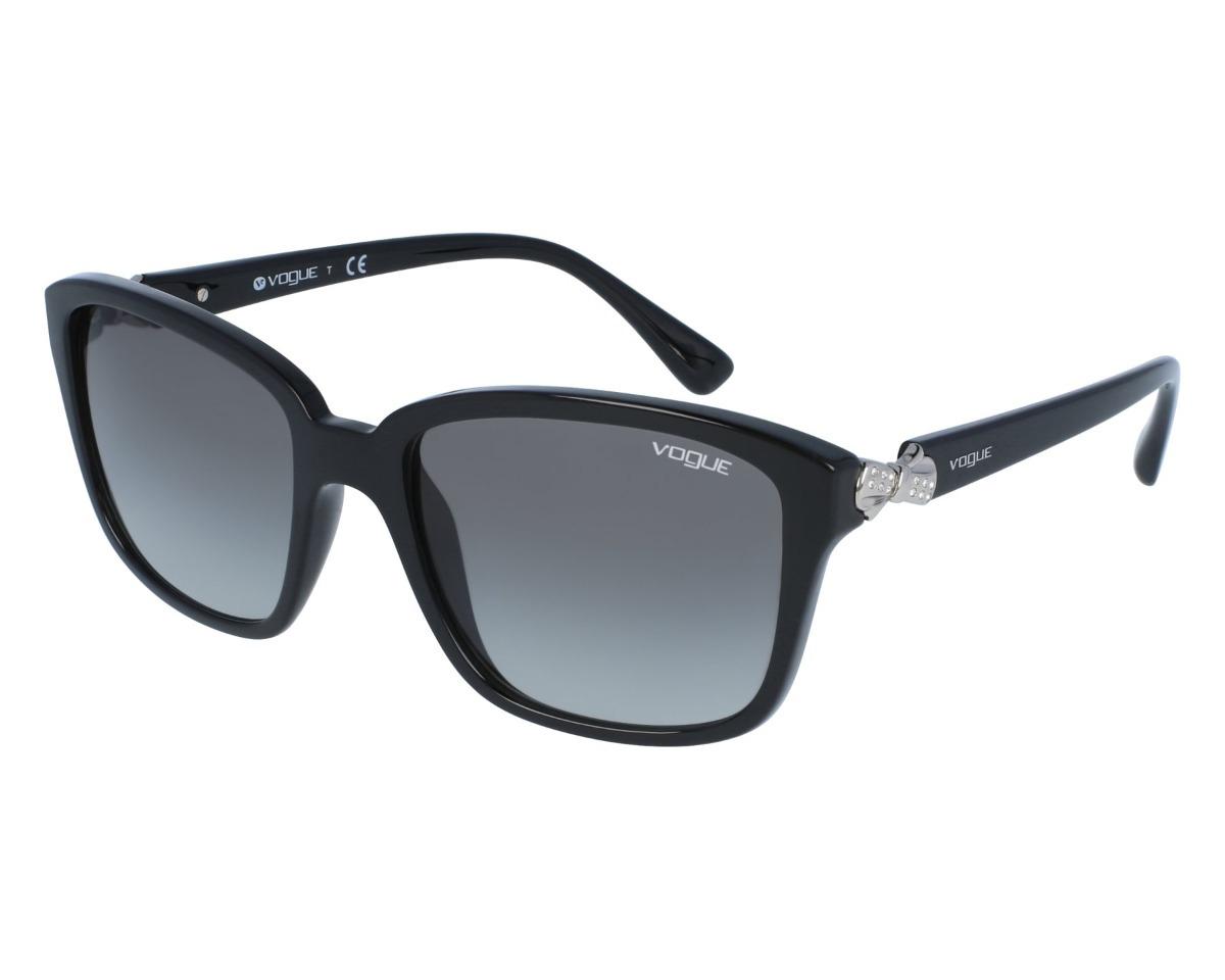 óculos de sol feminino preto - vogue vo 5093 sb - original. Carregando zoom. 0661fdc8f1