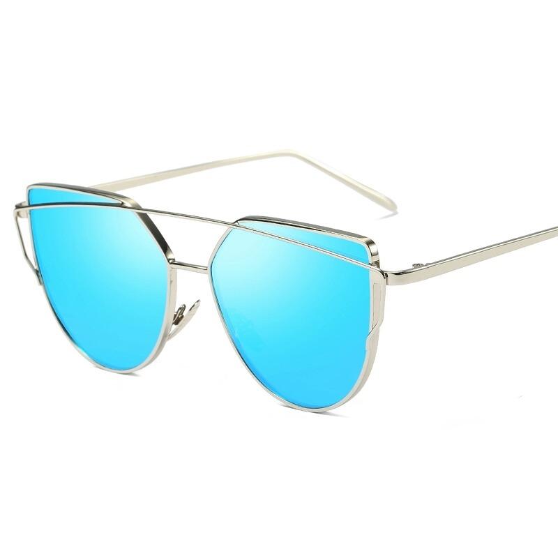 óculos de sol feminino proteção uv400 espelhado rose lindo. Carregando zoom. 13541d7efa
