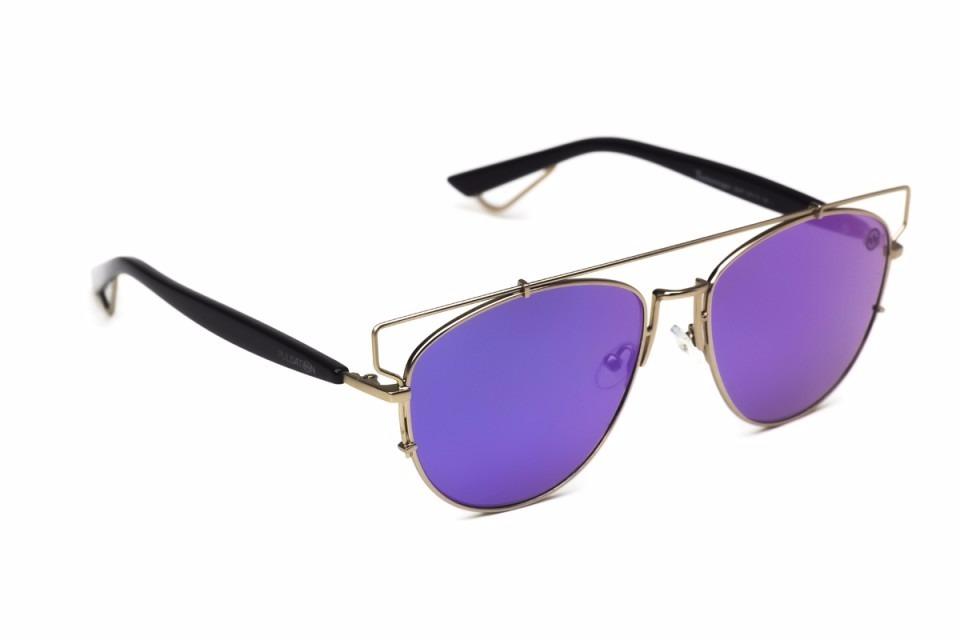 óculos de sol feminino pulsation ped 13-02 espelhado roxo. Carregando zoom. 711f60d19a