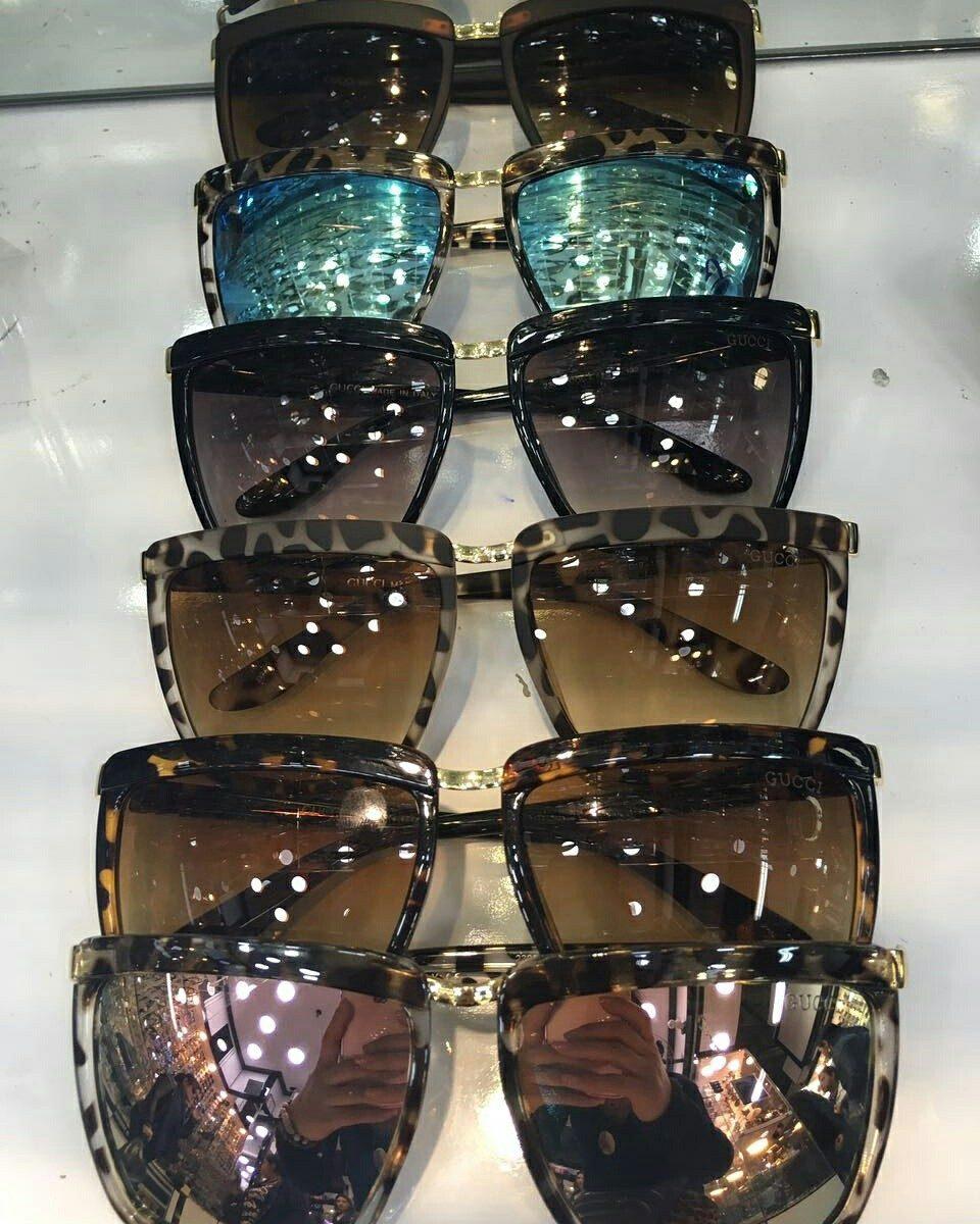 Oculos De Sol Feminino - Quadrado Leopard - R  110,00 em Mercado Livre 8bf33a1ccf