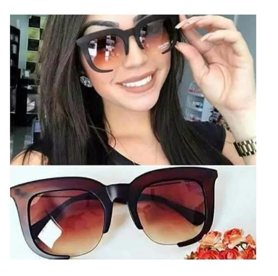 df06fc7e0 óculos de sol feminino rasoir clássico grande barato uv400. Carregando zoom.