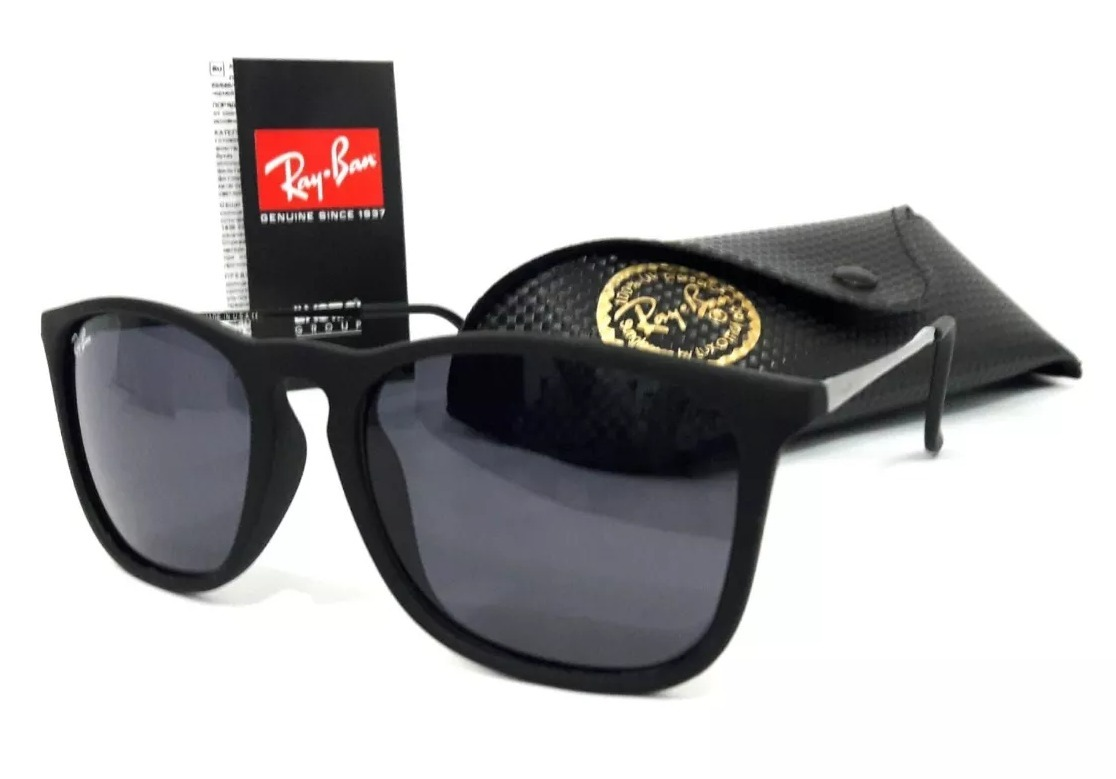 6f855d39b7e3f Oculos De Sol Feminino Ray Ban 1 Chris + 1 Justin - R  148