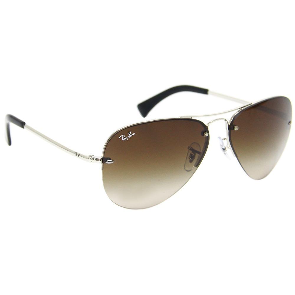 4dfa600c433b9 óculos de sol feminino ray-ban aviador rb 3449. Carregando zoom.