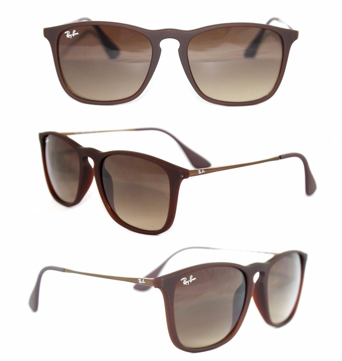 Óculos De Sol Feminino Ray-ban Modelo Erika Rb4171 - R  159,00 em ... 6e694c311c