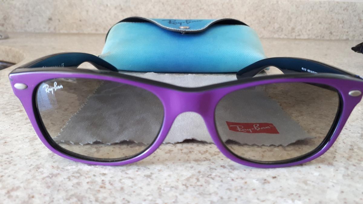 43971b21c Óculos De Sol Feminino Ray-ban New Wayfarer Rb2132 Original - R$ 169 ...