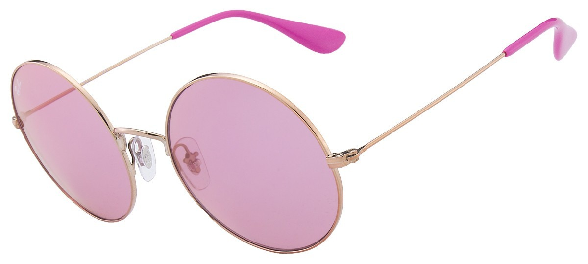 857613b7bf7f7 óculos de sol feminino ray ban rb3592 ja jo rosa - original. Carregando  zoom.