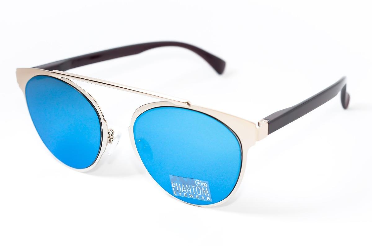 bb081ca154b5f oculos de sol feminino redondo cinza morcego espelhado azul. Carregando zoom .