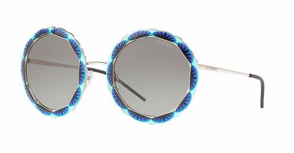 ab48e83964a8a Óculos De Sol Feminino Redondo Empório Armani 2054 301511 - R  679,00 em  Mercado Livre