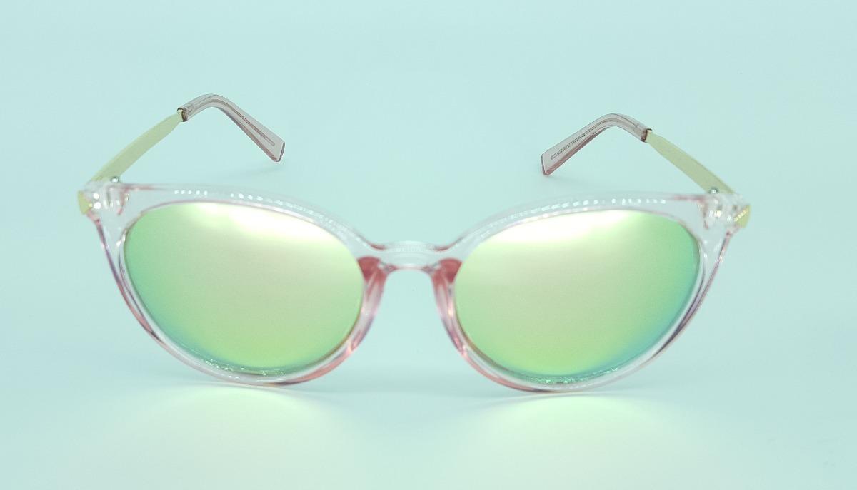 65440fca27de4 óculos de sol feminino redondo espelhado rosa. Carregando zoom.